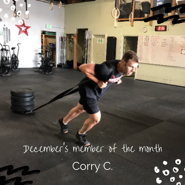 December's Member of the Month
