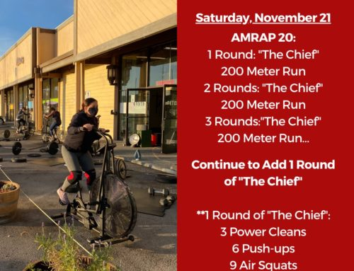Tamalpais CrossFit WOD November 21 2020