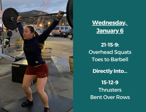 Tamalpais CrossFit WOD January 6 2021