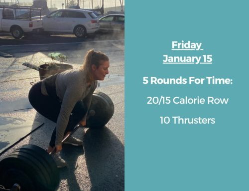 Tamalpais CrossFit WOD January 15 2021