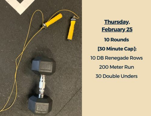Tamalpais CrossFit WOD February 25 2021