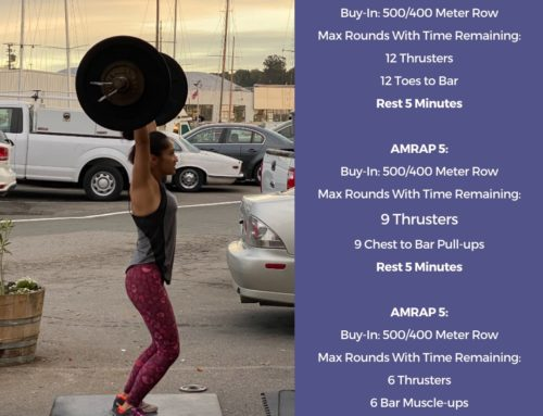 Tamalpais CrossFit WOD March 3 2021